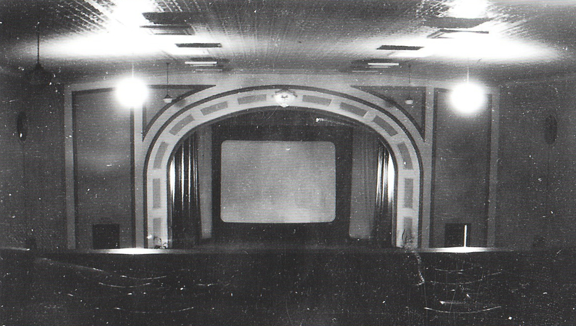 photo of the original stage, 1930's