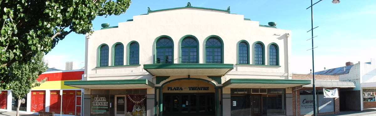 facade of the Kyabram Plaza Theatre